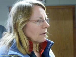 Alie van der Wal, evenementenbrein van de Ducaticlub