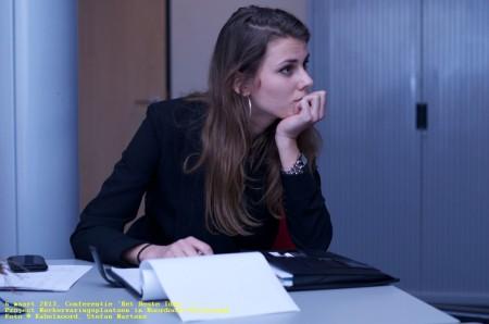 Marianne Reitsma, projectleider en gangmaker van deze conferentie.