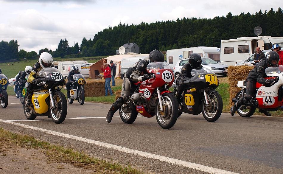 Start van de 500cc-klasse. Foto Festina Lente, Inge van Hesteren