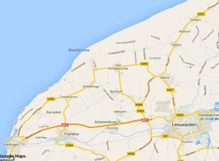 NW-Friesland Google Maps