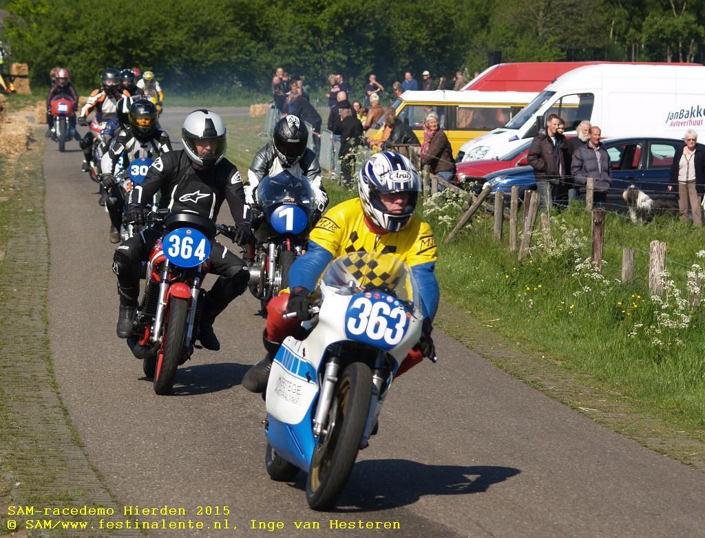 SAM-racedemo Hierden 2014 © SAM/Festina Lente, Inge van Hesteren