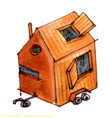 Fryske dagendossier tiny houses harlingen fryske dagen for Tiny house movement nederland