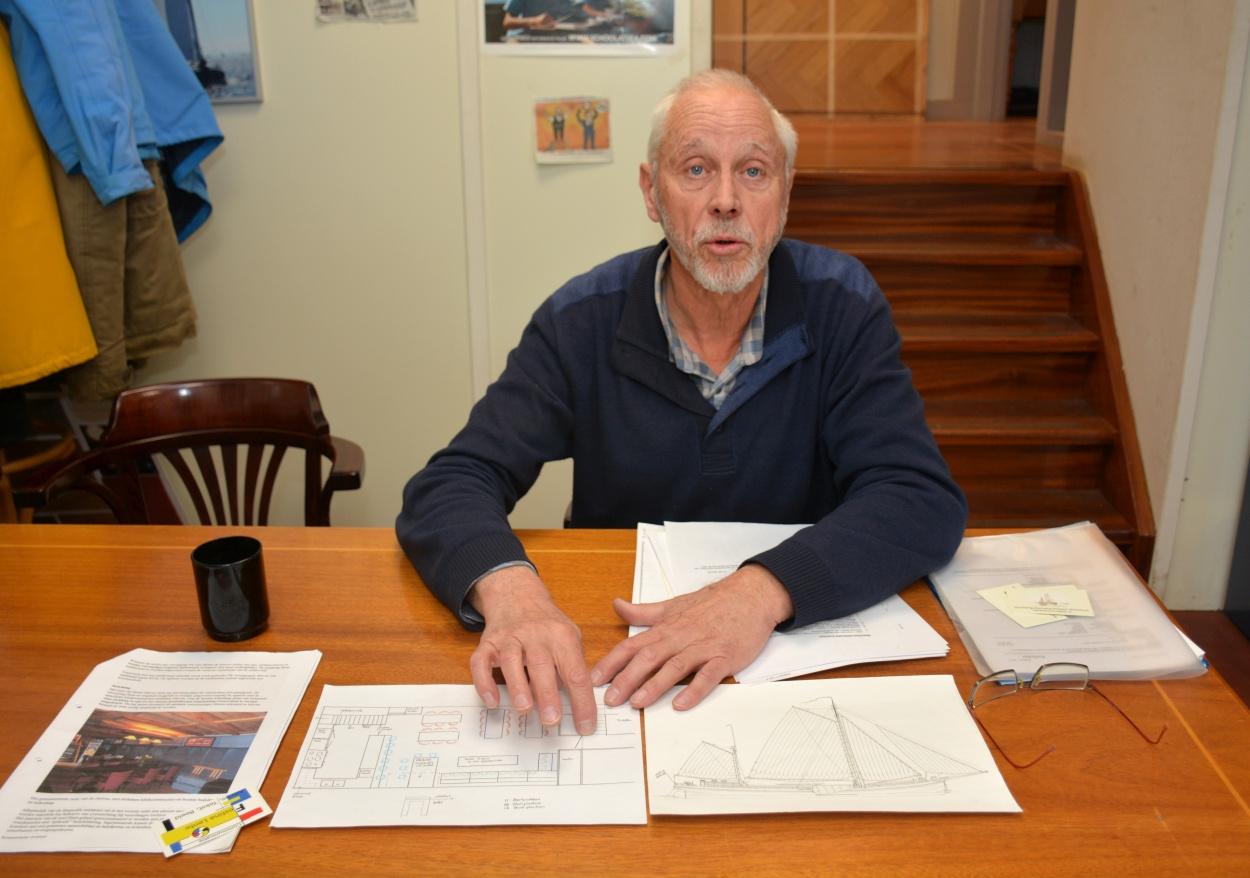 Peter Bilterijst: 'Ik ben een beetje gek van oude schepen. En ik heb tijd, ik ben gepensioneerd en advocaat geweest. Dan ben je voorzitter voordat je het weet.'