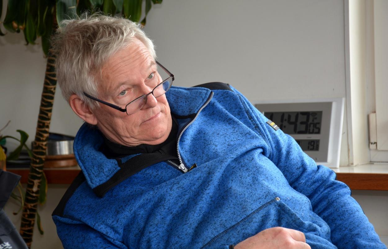 'Ineke en ik hebben er heel wat werk aan gehad. We zijn er nu best trots op', zegt Robert Jan Feith. (Foto: Gijs van Hesteren)