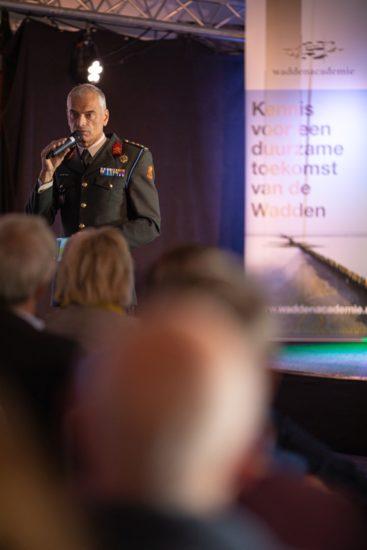 Kolonel Van der Touw. (Foto: Lucas Kemper)