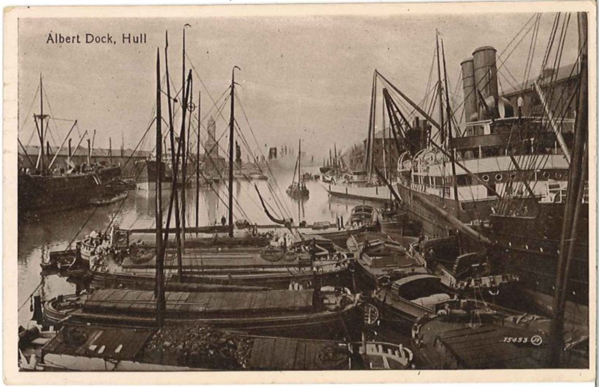 Albert dock, Hull.